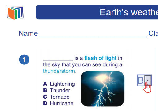 Open Worksheet: Earth`s weather and sessions