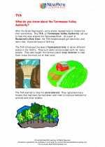 Social Studies - Sixth Grade - Study Guide: TVA