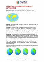 Social Studies - Third Grade - Study Guide: Geographic Information