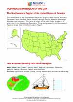 Social Studies - Fifth Grade - Study Guide: Southeastern Region US