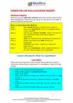 Science - Fourth Grade - Study Guide: Hands-on Lab Skills/Science Inquiry - 4th grade