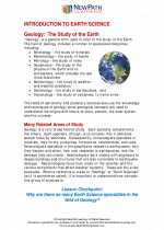 Science - Sixth Grade - Study Guide: Introduction to earth science