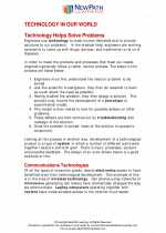 Science - Seventh Grade - Study Guide: Technology in our world