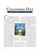 Social Studies - Fourth Grade - Study Guide: Columbus Day