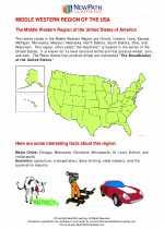 Social Studies - Fifth Grade - Study Guide: Middle Western Region US