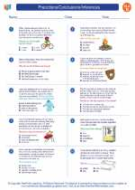 English Language Arts - Fourth Grade - Worksheet: Precictions/Conclusions/Inferences
