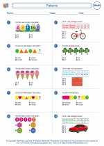 Mathematics - Fourth Grade - Worksheet: Patterns