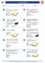 English Language Arts - Fourth Grade - Worksheet: Context Clues