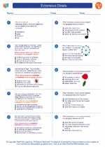 English Language Arts - Fourth Grade - Worksheet: Extraneous Details