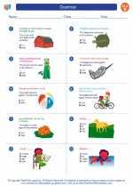 English Language Arts - Fifth Grade - Worksheet: Grammar
