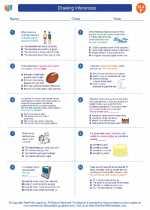English Language Arts - Sixth Grade - Worksheet: Drawing Inferences