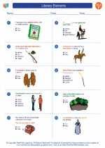 English Language Arts - Sixth Grade - Worksheet: Literary Elements