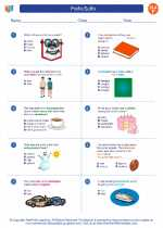 English Language Arts - Sixth Grade - Worksheet: Prefix/Suffix