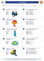 English Language Arts - Fifth Grade - Worksheet: Root Words