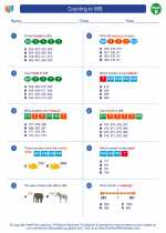 Mathematics - Second Grade - Worksheet: Counting to 999