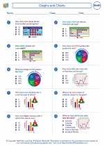 Mathematics - Third Grade - Worksheet: Graphs and Charts