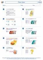 Mathematics - Fourth Grade - Worksheet: Place Value