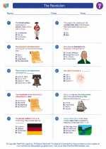 Social Studies - Fifth Grade - Worksheet: The Revolution