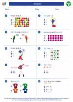 Mathematics - Third Grade - Worksheet: Division