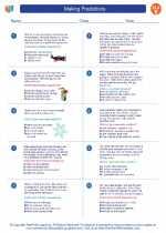 English Language Arts - Fifth Grade - Worksheet: Making Predictions
