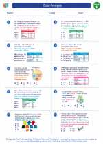 Mathematics - Fifth Grade - Worksheet: Data Analysis