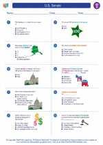 Social Studies - Fourth Grade - Worksheet: U.S. Senate