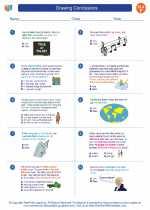 English Language Arts - Sixth Grade - Worksheet: Drawing Conclusions