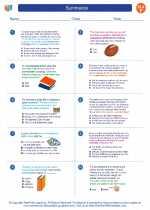English Language Arts - Sixth Grade - Worksheet: Summarize