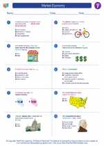 Social Studies - Sixth Grade - Worksheet: Market Economy