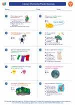 English Language Arts - Sixth Grade - Worksheet: Literary Elements/Poetic Devices