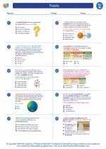 Science - Eighth Grade - Worksheet: Fossils