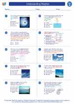 Science - Eighth Grade - Worksheet: Understanding Weather