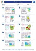 Science - Sixth Grade - Worksheet: Weather patterns