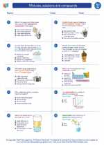 Mixtures, solutions and compounds