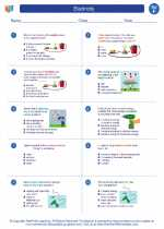 Science - Sixth Grade - Worksheet: Electricity