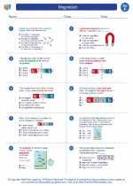 Science - Sixth Grade - Worksheet: Magnetism