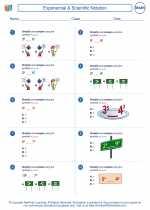 Mathematics - Fifth Grade - Worksheet: Exponential & Scientific Notation