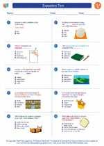 English Language Arts - Seventh Grade - Worksheet: Expository Text