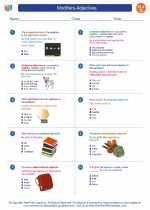 English Language Arts - Seventh Grade - Worksheet: Modifiers-Adjectives