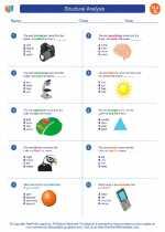 English Language Arts - Seventh Grade - Worksheet: Structural Analysis