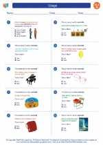 English Language Arts - Eighth Grade - Worksheet: Usage