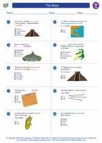 Social Studies - Seventh Grade - Worksheet: The Maya