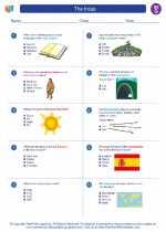 Social Studies - Seventh Grade - Worksheet: The Incas