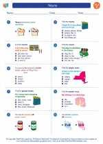 English Language Arts - Third Grade - Worksheet: Nouns