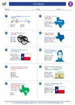 Social Studies - Seventh Grade - Worksheet: The Alamo