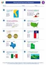 Social Studies - Seventh Grade - Worksheet: Moving Southward and Westward