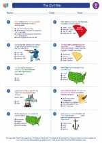 Social Studies - Seventh Grade - Worksheet: The Civil War