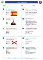 Social Studies - Eighth Grade - Worksheet: Central America