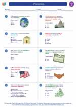 Social Studies - Eighth Grade - Worksheet: Economics