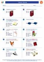 English Language Arts - Second Grade - Worksheet: Literary Genres